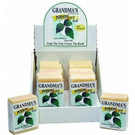 Grandma's Pure & Natural Poison Ivy Bar 2.15 oz