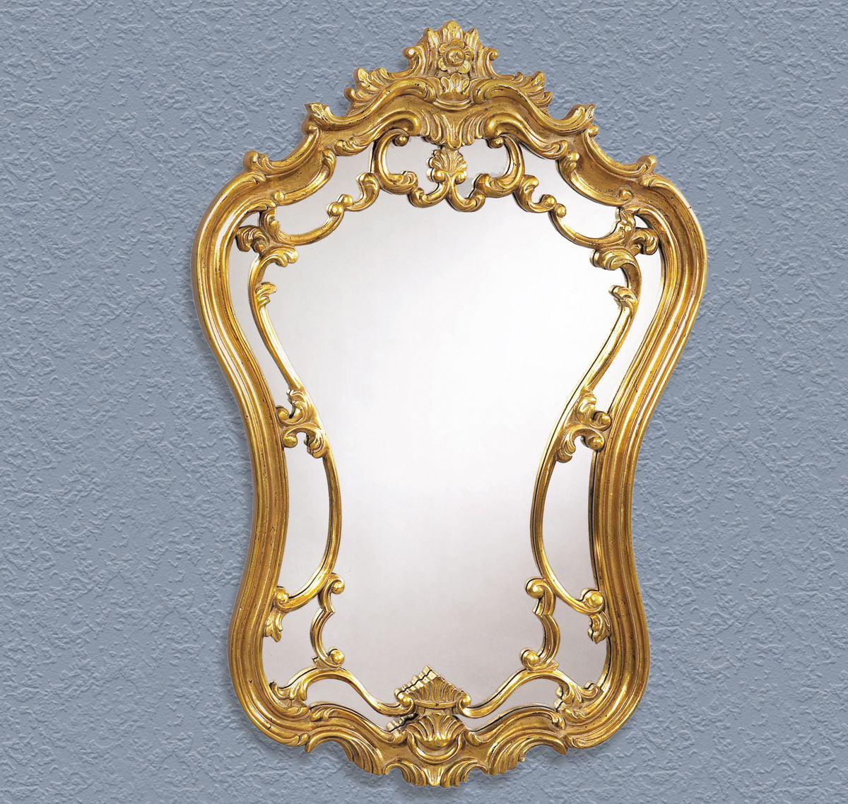 Bassett Old World Hermosa Wall Mirror in Gold Leaf