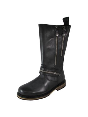 334d6cae8a87d Product Image Harley Davidson Womens Sackett Zippered Motorcycle Boot Shoes