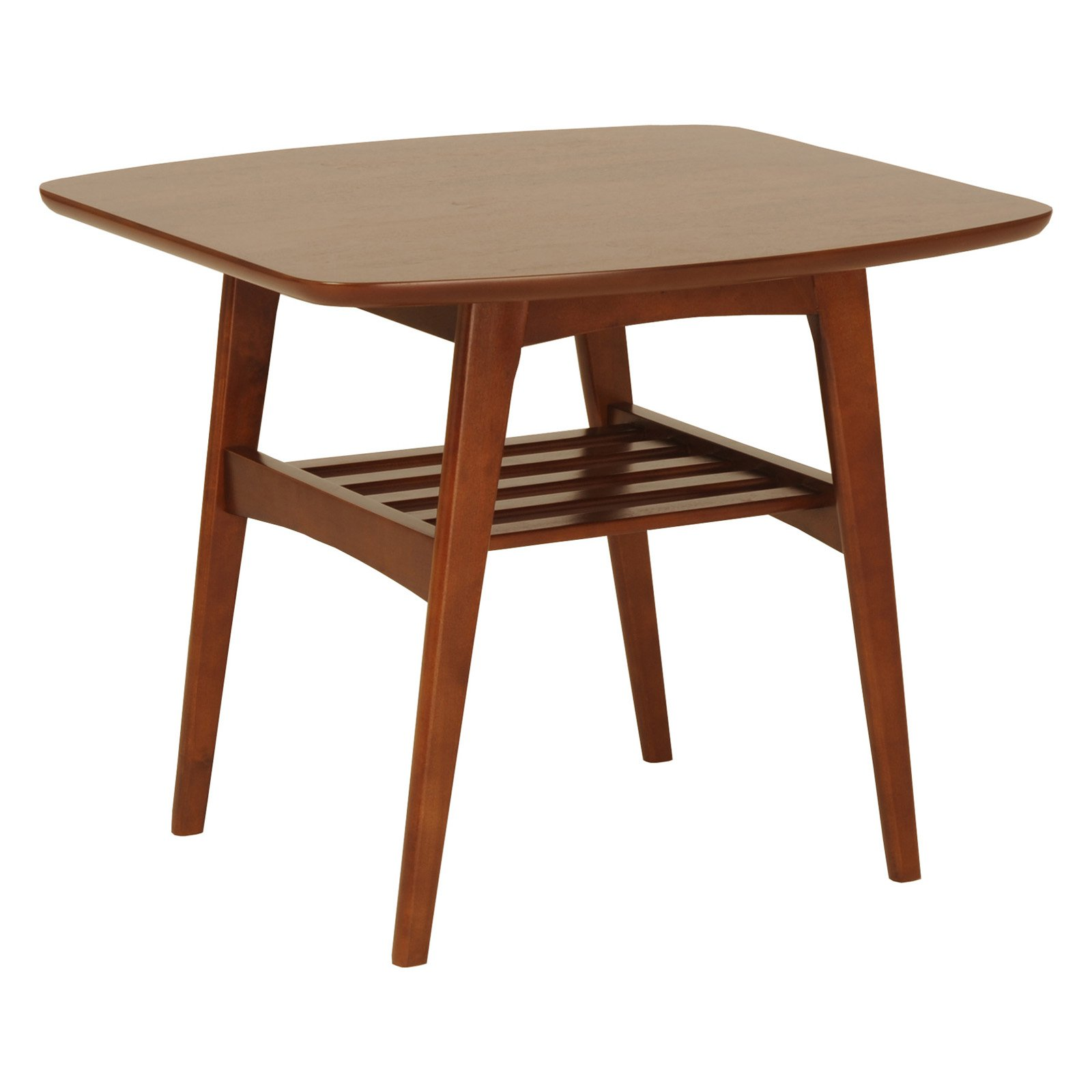 Euro Style Carmela Side Table - Walnut