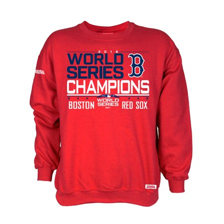 watch 54d03 32925 Boston Red Sox Stitches 2018 World Series Champions Pullover ...