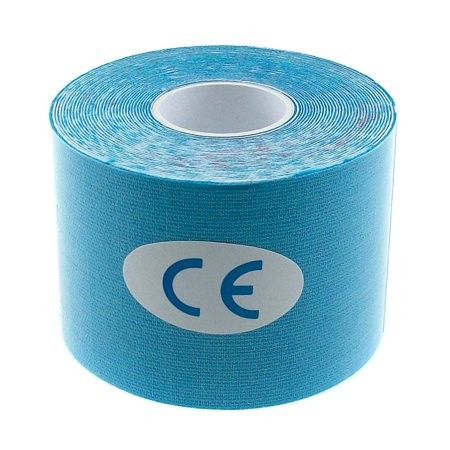 TrendBox Sky Blue - 1 Roll 5m x 5cm Kinesiology Sports Muscles Care Elastic Physio Therapeutic Tape for Knee Shoulder Wrist Muscle Back Injury Exercise