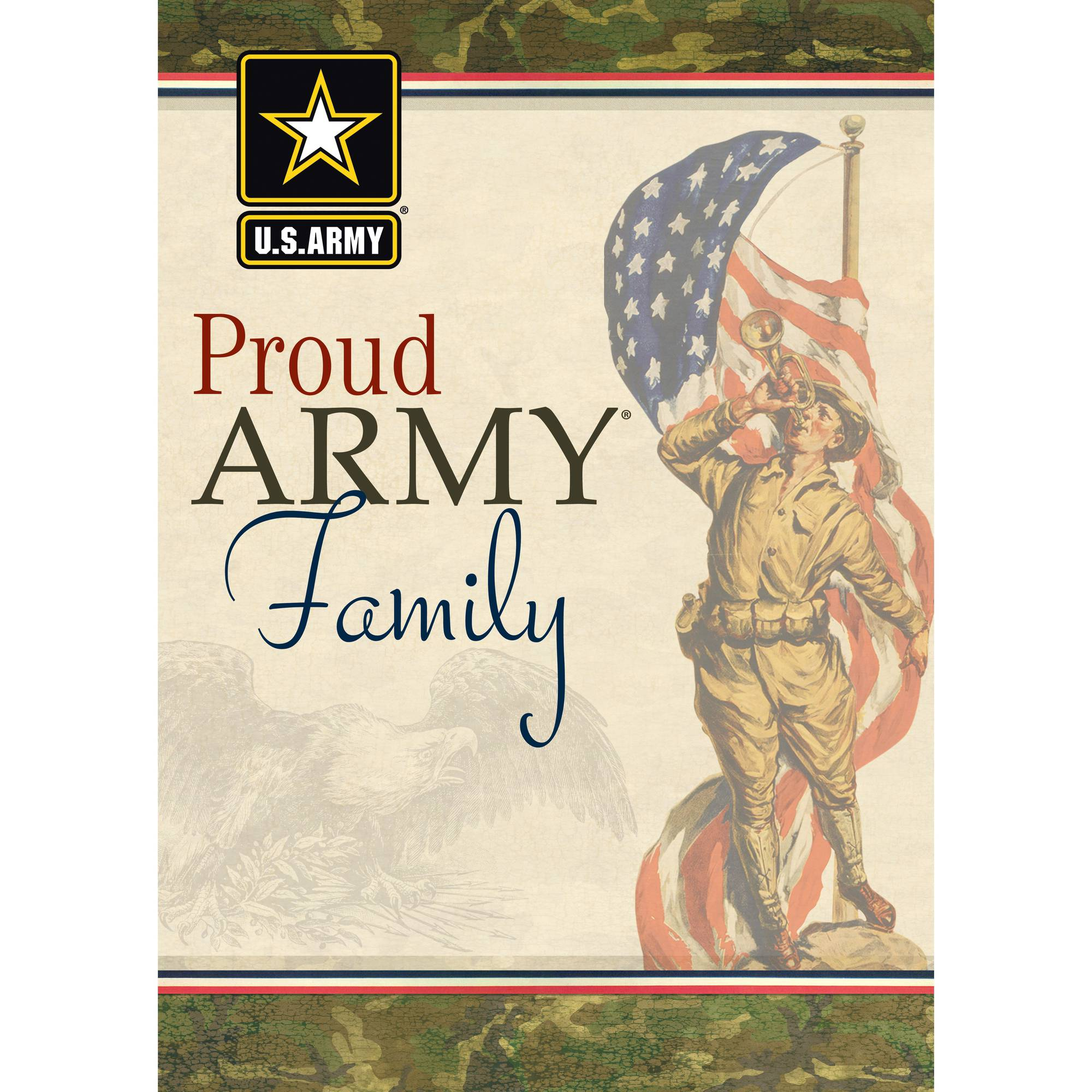 "Turner U.S. Army ""Proud Family"" Mini Garden Flag"