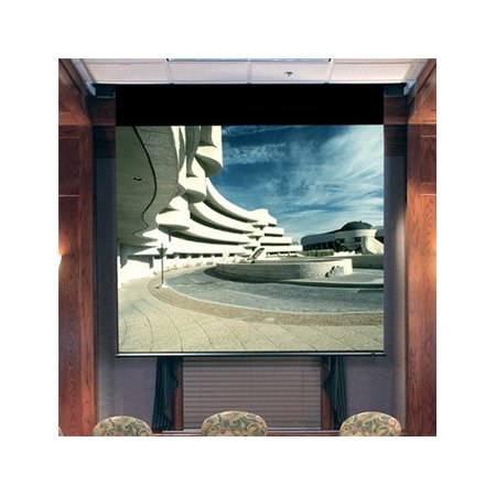 Draper Envoy Grey Electric Projection Screen Low Voltage Motor by