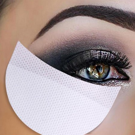 20/50/100PCS Eyelash Pad Eyeshadow Shields Patches Under Eye Stickers Makeup Aid - Skeleton Eye Makeup