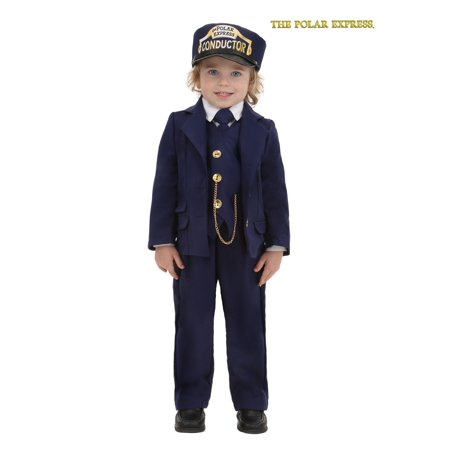Toddler Polar Express Conductor - Polar Bear Toddler Costume