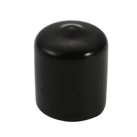 30Pcs 16mm ID souple vinyle PVC vis couvercle protecteur filetage Noir - image 2 de 4