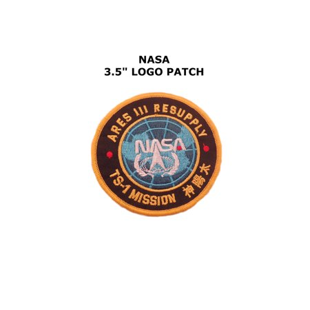 Resupply Kit (NASA Aries III Resupply Embroidered Iron/Sew On Patch By Superheroes)
