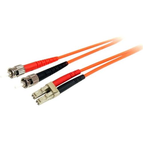 Startech FIBLCST10 Fiber Optic Cable Multimode Duplex 62.5/125 LSZH LC/ST 10 m