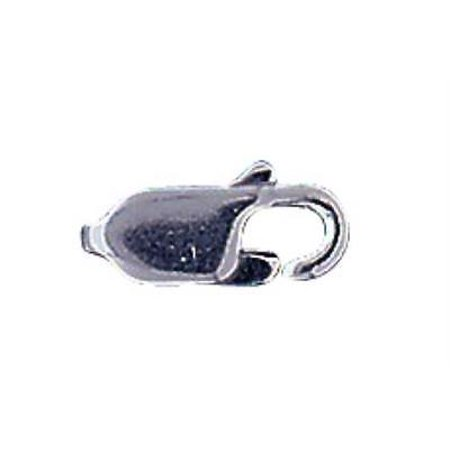 2PK Sterling Silver medium lobster claw clasp findings 11mm