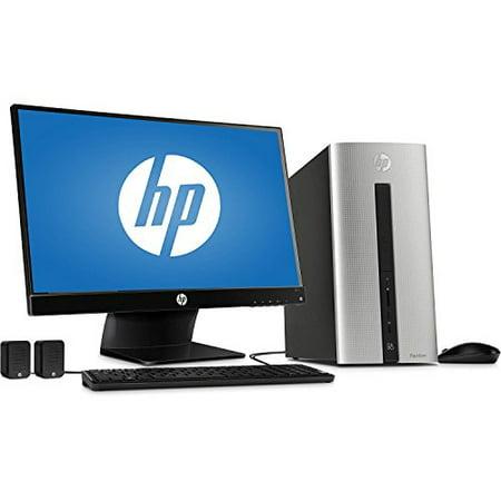 HP Pavilion 550-153wb Desktop PC with Intel Core i3-4170 Dual-Core Processor, 6GB Memory, 23 Monitor, 1TB Hard Drive - Win 10 Ho ()