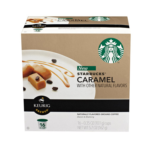 Starbucks�� Caramel Flavored Coffee K-Cup�� Pods 16 ct Box