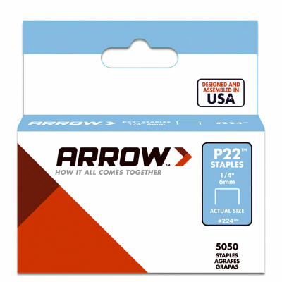"Arrow Fastener 1 4"" P22 Staples by Arrow Fastener"