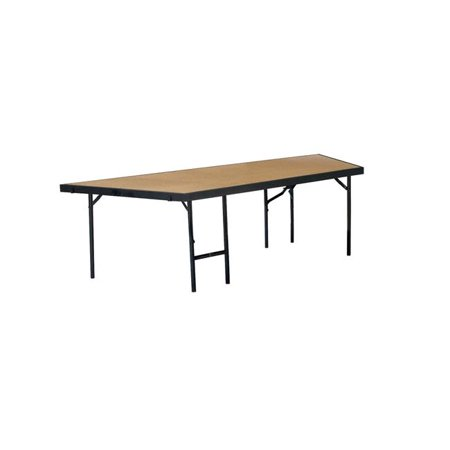 National Public Seating SP3632HB 36 x 32 in. Stage Pie Unit with Hardboard -