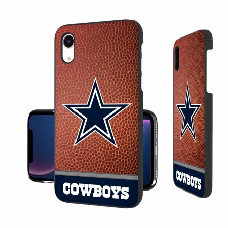 Dallas Cowboys iPhone Rugged Football Wordmark Design Case - X/Xs