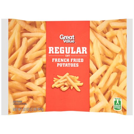6051bc62a44 Great Value Regular Cut French Fried Potatoes