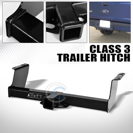 Velocity Concepts Class 3 Rectangular Trailer Hitch Receiver Bumper Tow Kit 2