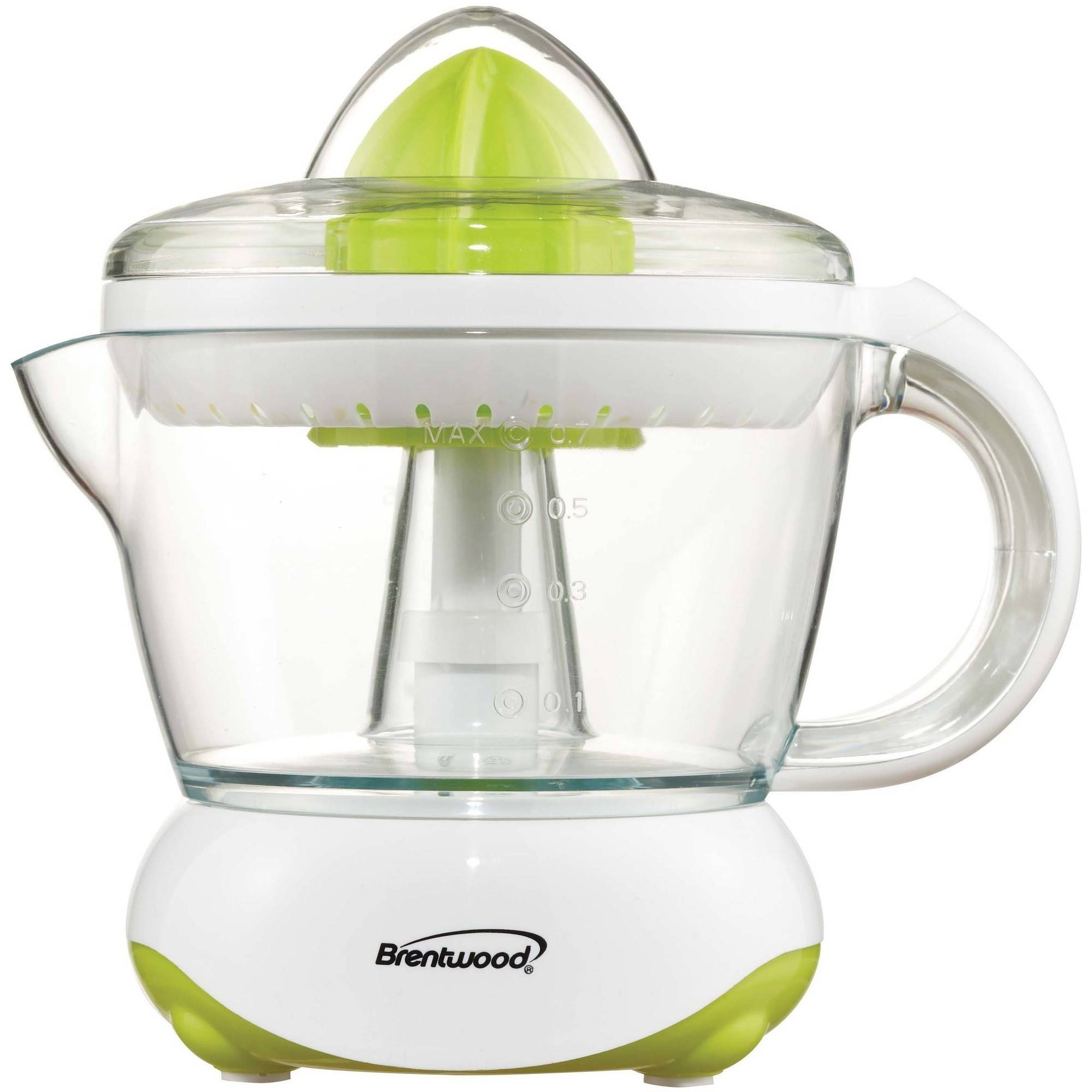 Brentwood Electric Citrus Juicer 500 ml, White