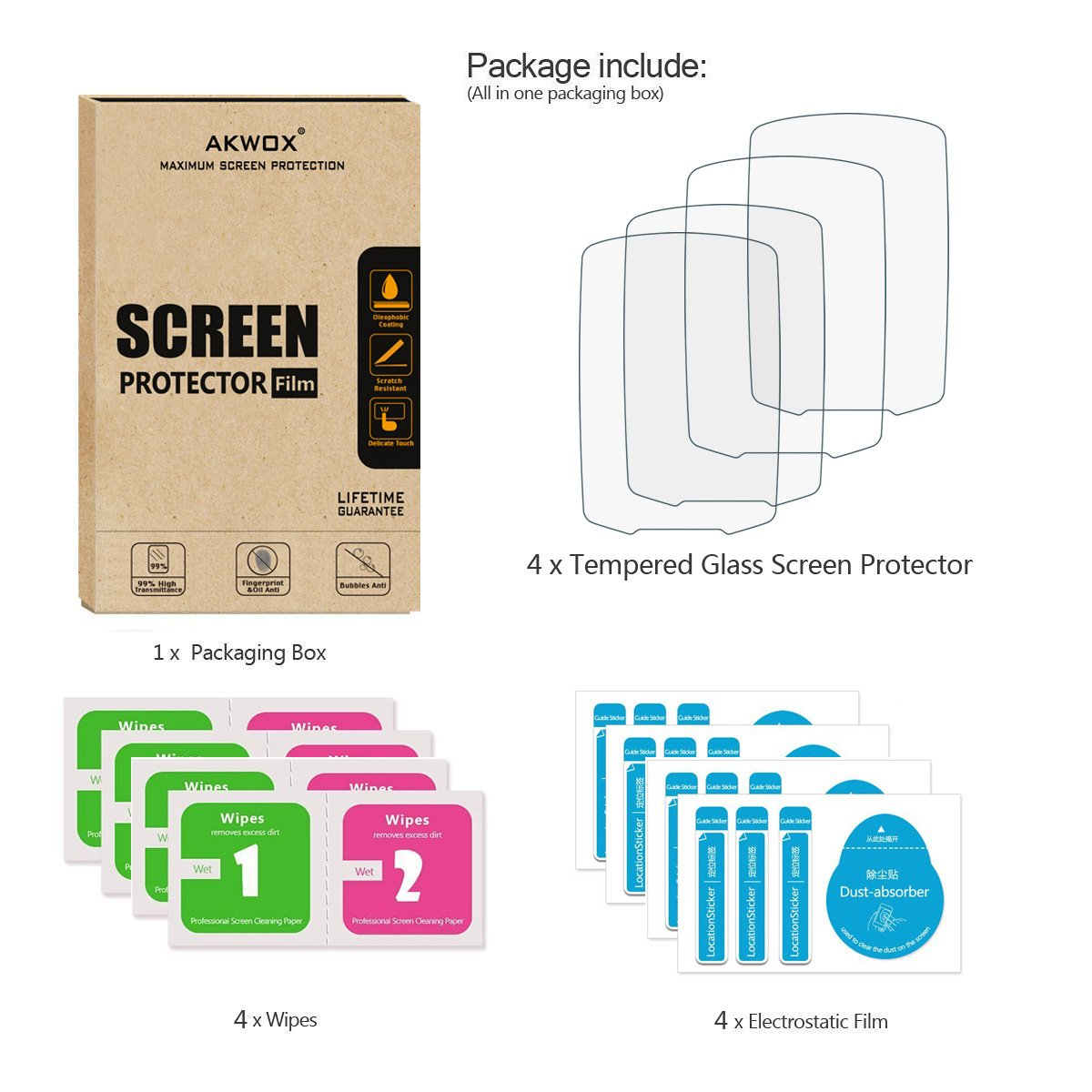 HD Film Skin BoxWave Shields from Scratches for Garmin GPSMAP 7616xsv 2-Pack ClearTouch Crystal Garmin GPSMAP 7616xsv Screen Protector