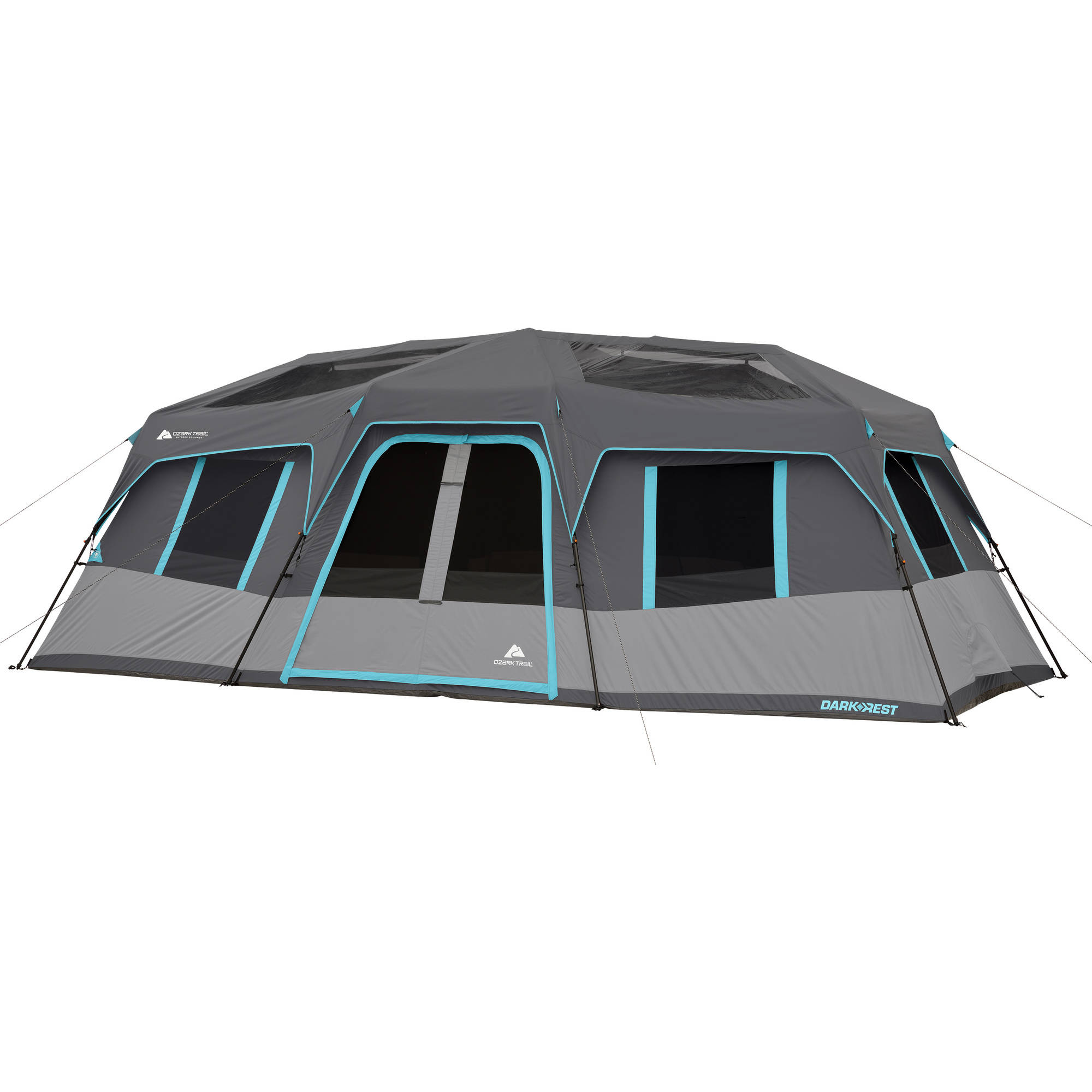 Ozark Trail 20' x 10' Dark Rest Instant Cabin Tent, Sleeps 12 by Bohemian Travel Gear Limited