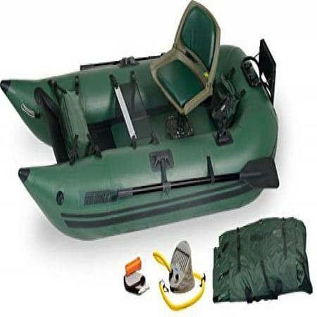 Sea Eagle 285 Inflatable Frameless Fishing Pontoon Boat - Pro (Best Frameless Pontoon Boat)