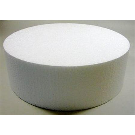 """Golda's Kitchen Round Cake Dummy - 4"""" x 3"""" - image 1 de 1"""
