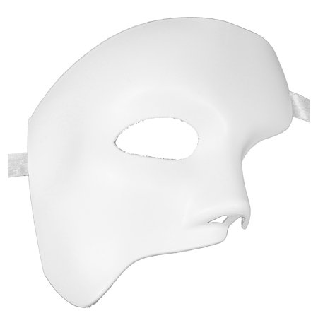 PHANTOM MASK - Arts and Crafts - BLANK WHITE - Halloween Arts Crafts Pinterest
