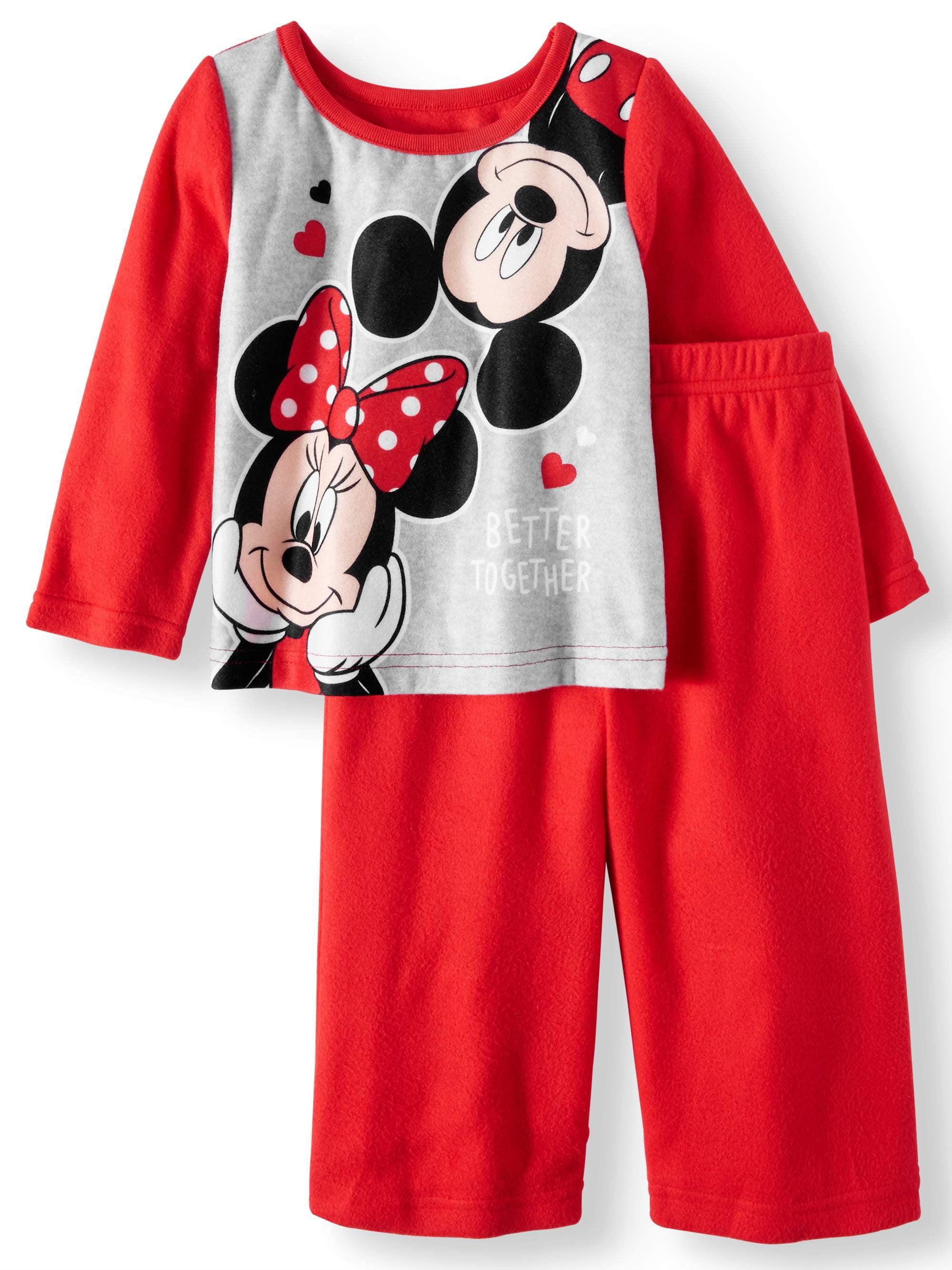 Minnie Mouse Pajamas, 2pc Set (Baby Girls & Toddler Girls)
