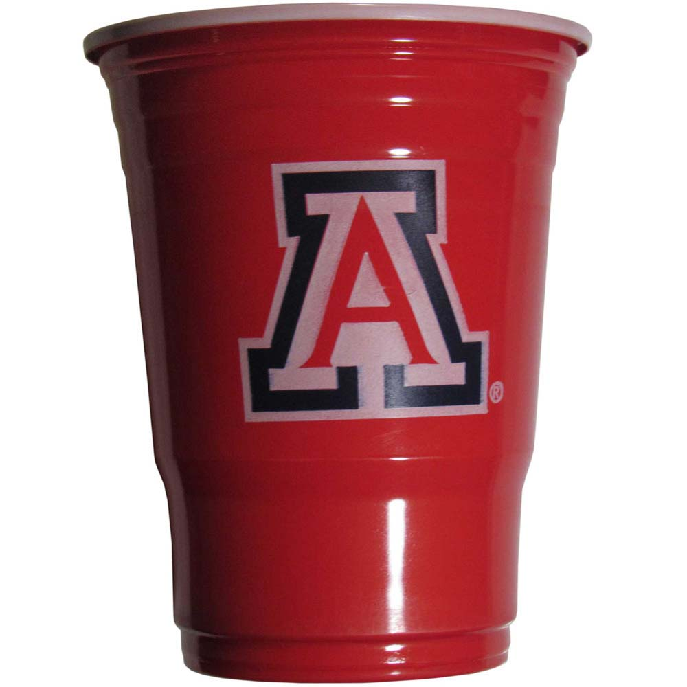 Arizona Wildcats Plastic Game Day Cups