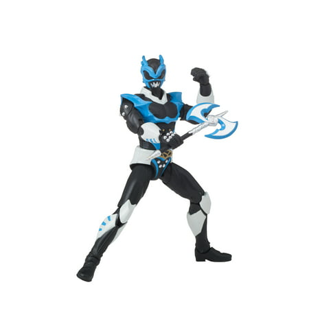 Bandai - Power Rangers Legacy Psycho Ranger, - Jungle Fury Blue Ranger