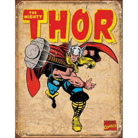 Thor Retro Tin Sign - 16x12.5 2 Retro Signs
