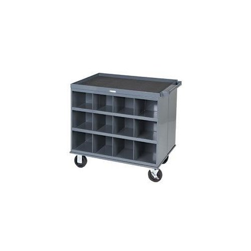 Factory Utility Cart: Durham Manufacturing Utility Cart With 24 Bins
