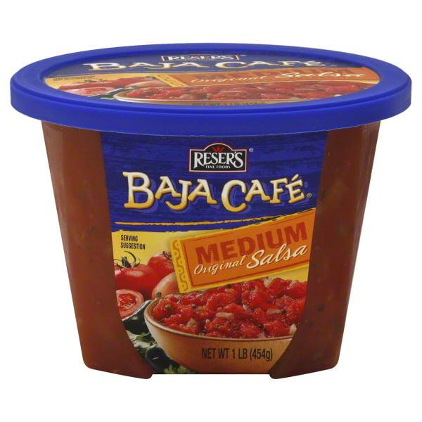 Reser's® Baja Cafe® Medium Original Salsa 16 oz. Tub - Walmart.com -  Walmart.com