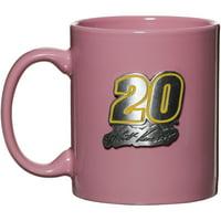 Matt Kenseth 11z. Ceramic Coffee Mug - Pink - No Size