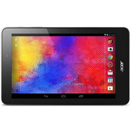 "DEALS Manufacturer Refurbished Acer Iconia One with WiFi 8.0"" Touchscreen Tablet PC Featuring Android 5.1 (Lollipop) Operating System, Black NOW"
