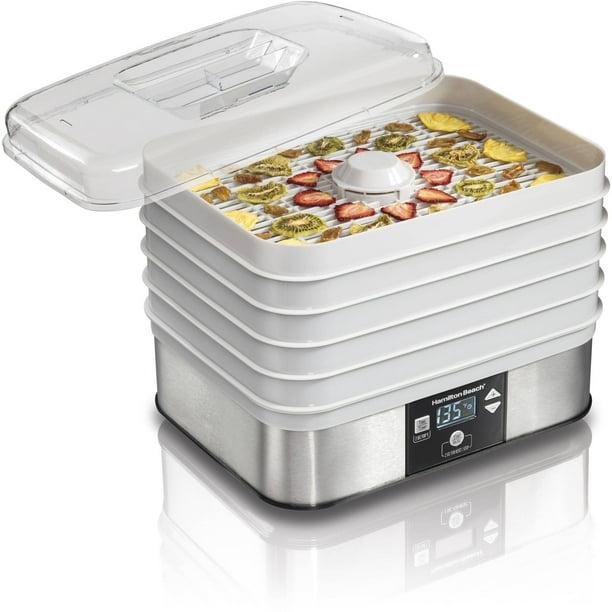 Hamilton Beach 5 Shelf Digital Food Dehydrator Model 32100