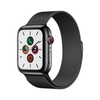 Apple Watch Series 5 GPS + Cellular - 44mm - Milanese Loop Stainless Steel Case