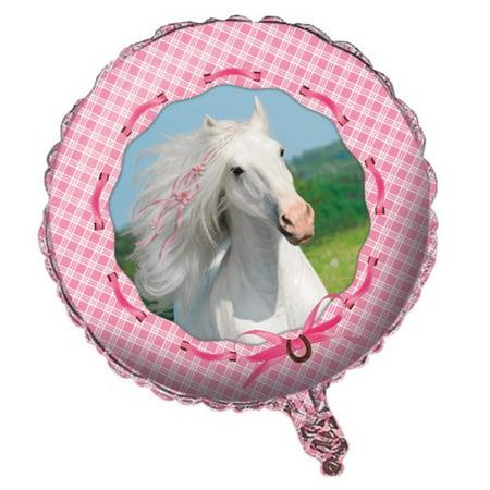 Heart My Horse 18 inch Foil Balloon (Pinata Horse)