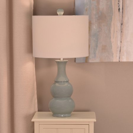 Double Gourd Ceramic Table Lamp