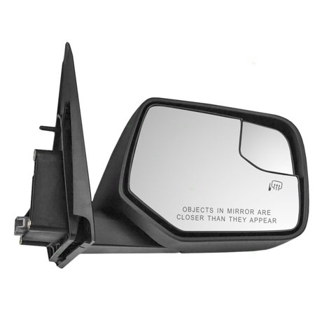 Aftermarket Side View Mirrors - Passengers Power Side View Mirror Blind Spot Glass Ready-to-Paint Replacement for Ford Mercury SUV AL8Z17682DAPTM, Brand new aftermarket replacement By AUTOANDART