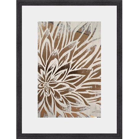 Somerset House Publishing 2300 Barnwood Bloom II, Framed Fine Art Print with Glass