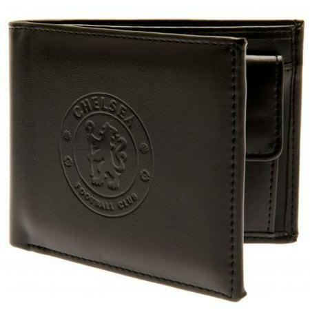 - Chelsea FC - Debossed Crest Leather Wallet