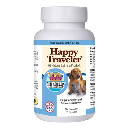 Ark Naturals Happy Traveler, 30 Capsules (Ark Naturals Happy Traveler)