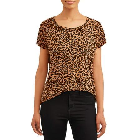 Women's Short Sleeve Raglan T Shirt by Time And Tru