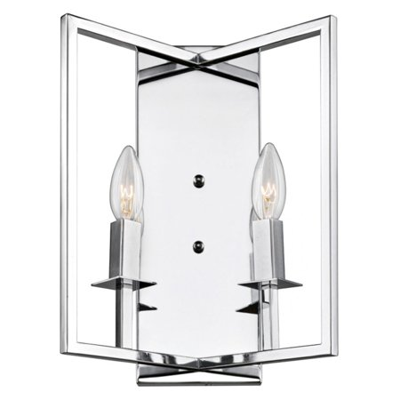 ArtCraft Allston AC10727 Wall Sconce Featuring an angled metal frame, the ArtCraft Allston AC10727 Wall Sconce adds dimension to your wall. The fixture is illuminated by two rectangular candle lights. Artcraft Since 1955, Artcraft Lighting has operated on the belief that beautiful lighting should be as much about the experience as the light fixtures themselves. And to create that meaningful experience, Artcraft Lighting strives to provide lighting products that are designed to meet your decor, lifestyle, and budget needs - all while ensuring top quality and impeccable customer service. With Artcraft Lighting products, you can reap the benefits of more than 60 years of lighting experience.