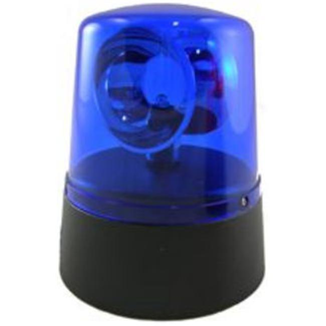 Fortune Products PL-4535B Mini Novelty Police Beacon Battery Operated - Blue