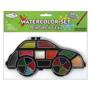 Multicraft Lil Artist Watercolor Set w/Brush Car
