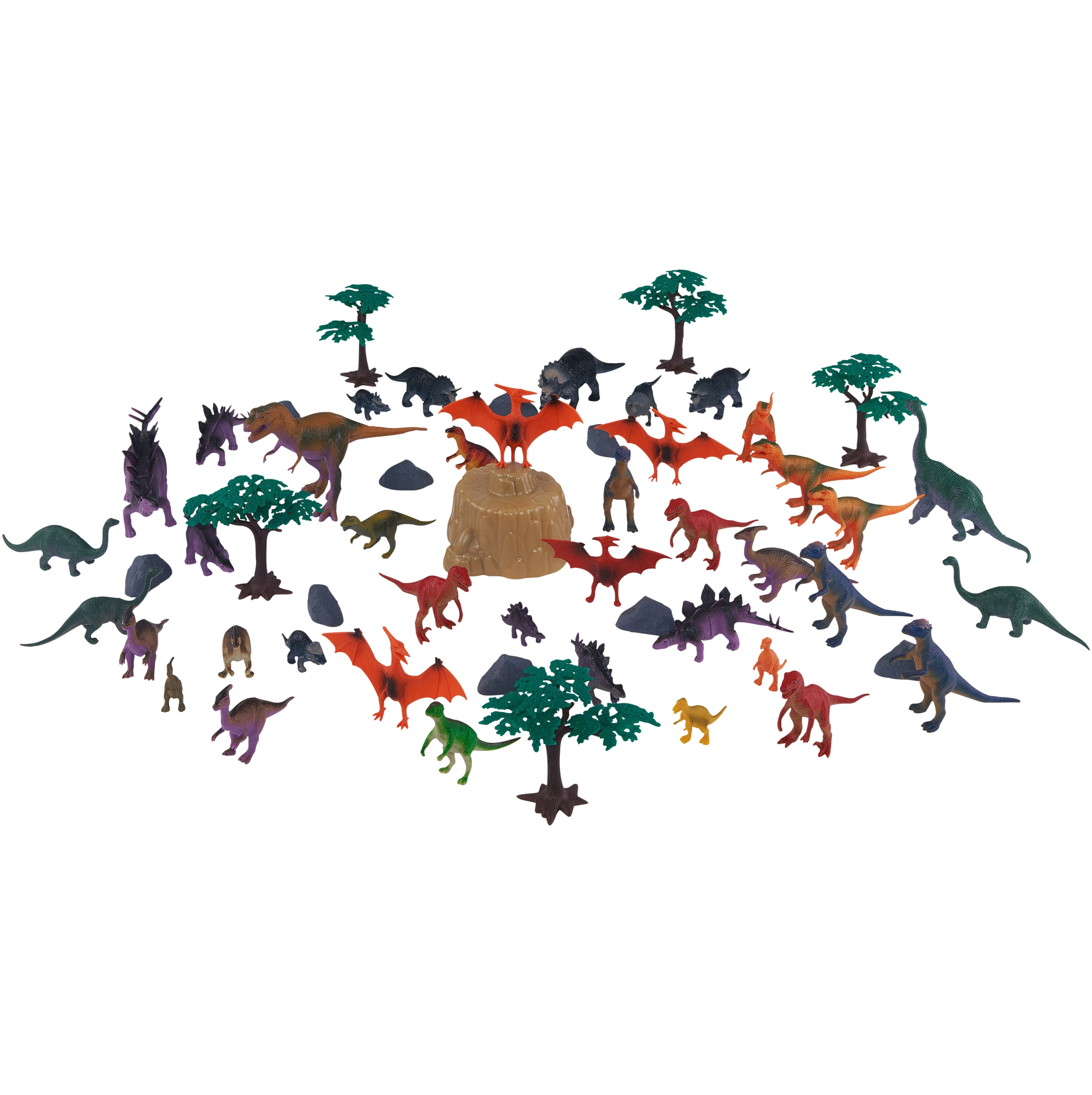 55-Piece Jumbo Dinosaurs Bucket by Wal-Mart Stores, Inc.
