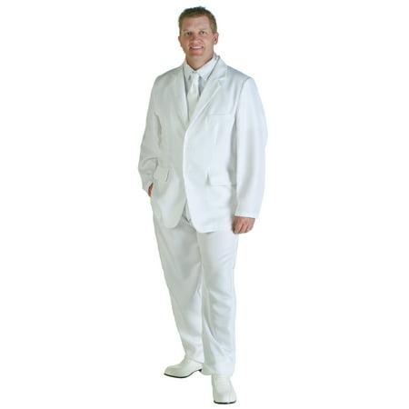Mens White Suit Costume - White Suit Costume