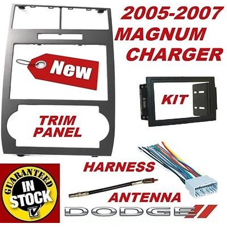 05 06 07 DODGE CHARGER MAGNUM Radio Stereo Car Installation DOUBLE DIN DASH KIT (2014 Dodge Charger Stereo)